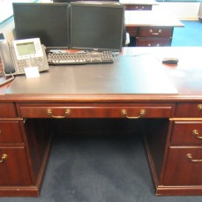 Kimball Double Ped Desk