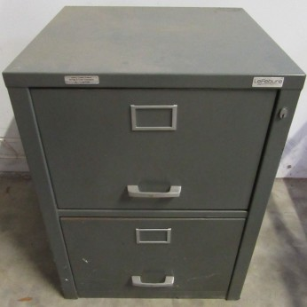 LeFabure 2 Drawer Verticle Fire File