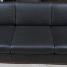 Brandred Leather 3 Seat Sofa