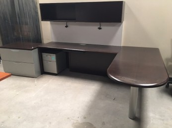 Steelcase L Shape Work Station