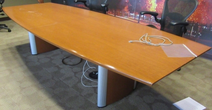 Wood Conference Table